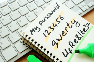 Establish and enforce password policy for small business IT security