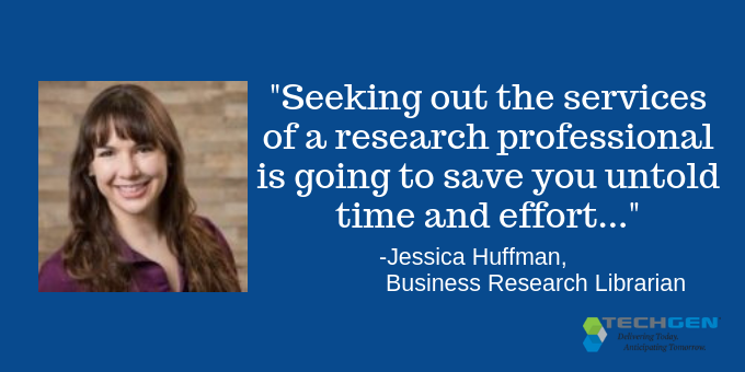 Jessica Huffman, Business Research Librarian