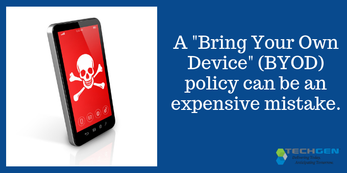 BYOD policy can be an expensive mistake for small businesses