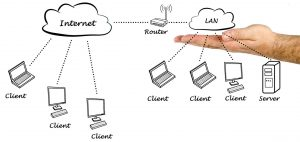 Hybrid cloud and on-site servers can be a good solution for SMBs