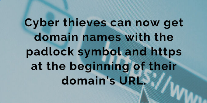 "The padlock symbol and https don't always mean ""secure."""